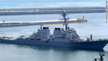 US-Zerstörer unterstützt Bidens harte Worte im Südchinesischen Meer