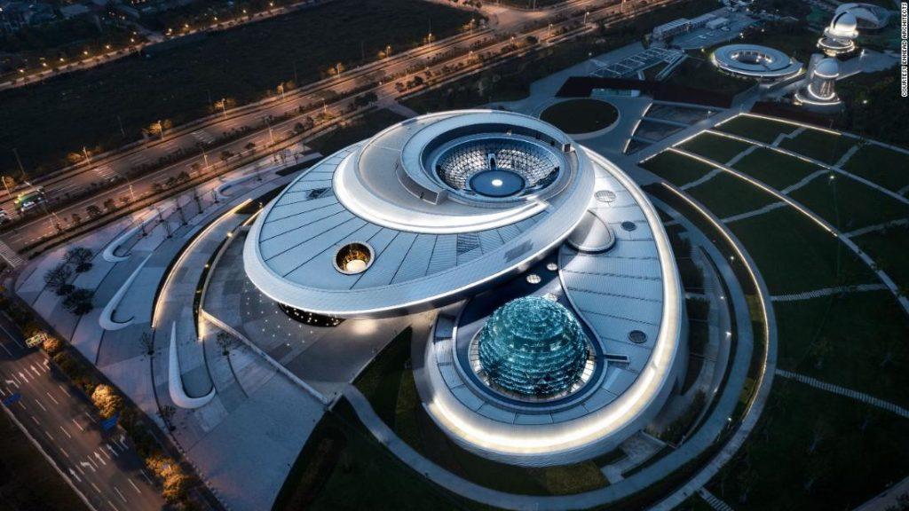 Shanghai Astronomical Museum: Das größte astronomische Museum der Welt wird in China eröffnet