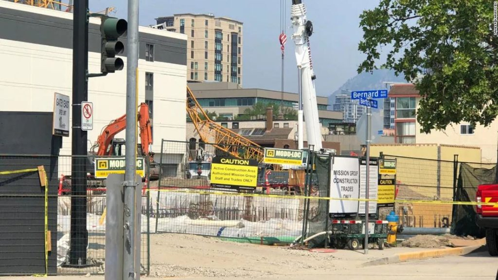 Kelowna Crane Collapse: Zweiter Kranichzusammenbruch in Kanada tötet mehrere