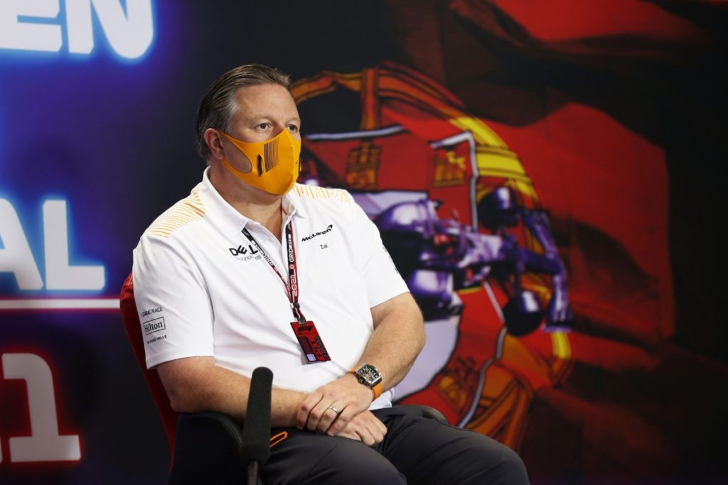McLaren F1-Chef zielt auf das hohe Gehalt von Daniel Ricciardo