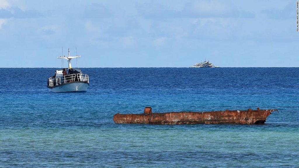 Philippinen untersuchen Bericht über das Verschütten von chinesischem Abwasser auf See