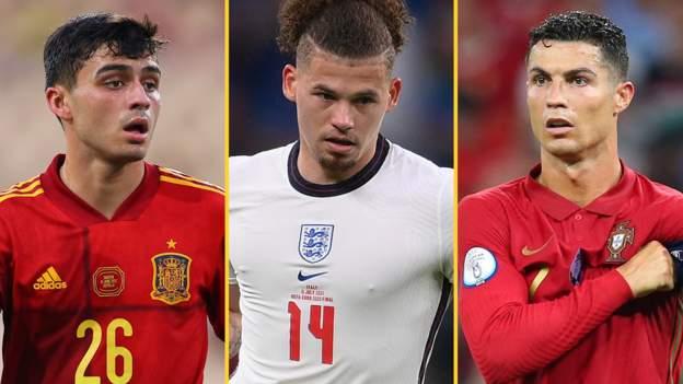 Euro 2020: Phillips 83km, Ronaldos Rekorde und Pedris Pässe - die besten Statistiken des Sommers