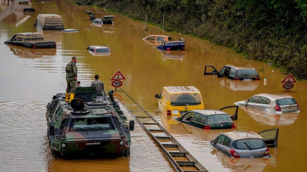 Überschwemmungen in Deutschland und Belgien: Große Bergungsaktion im Gange, da die Zahl der Todesopfer mindestens 170 erreicht |  Weltnachrichten