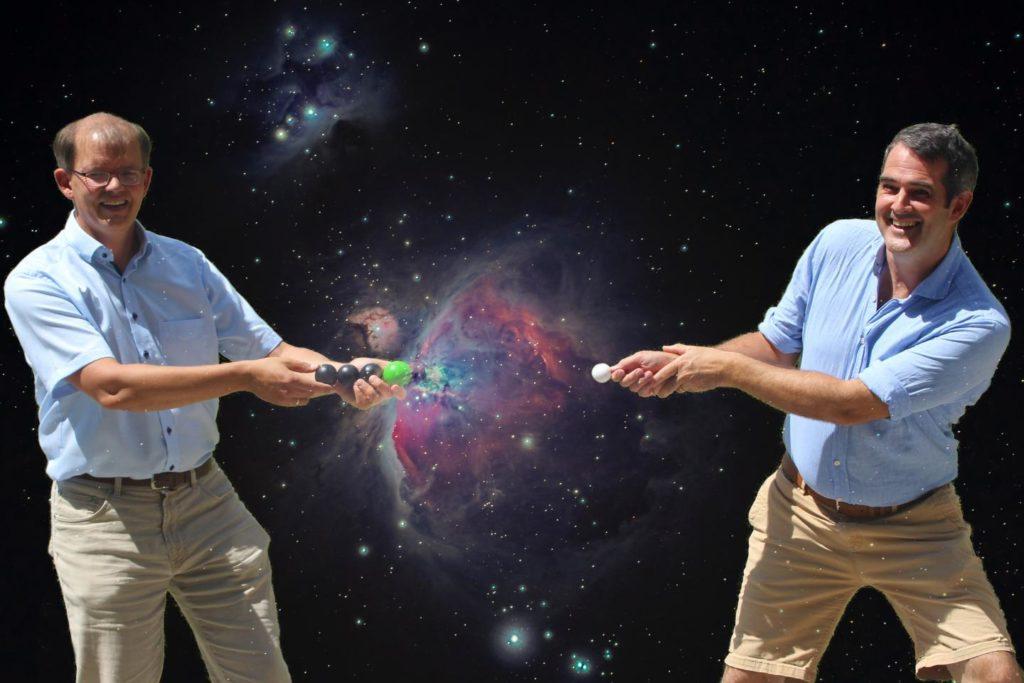 Einfangen von Elektronen im Raum    EurêkAlert!  Wissenschaftliche Nachrichten