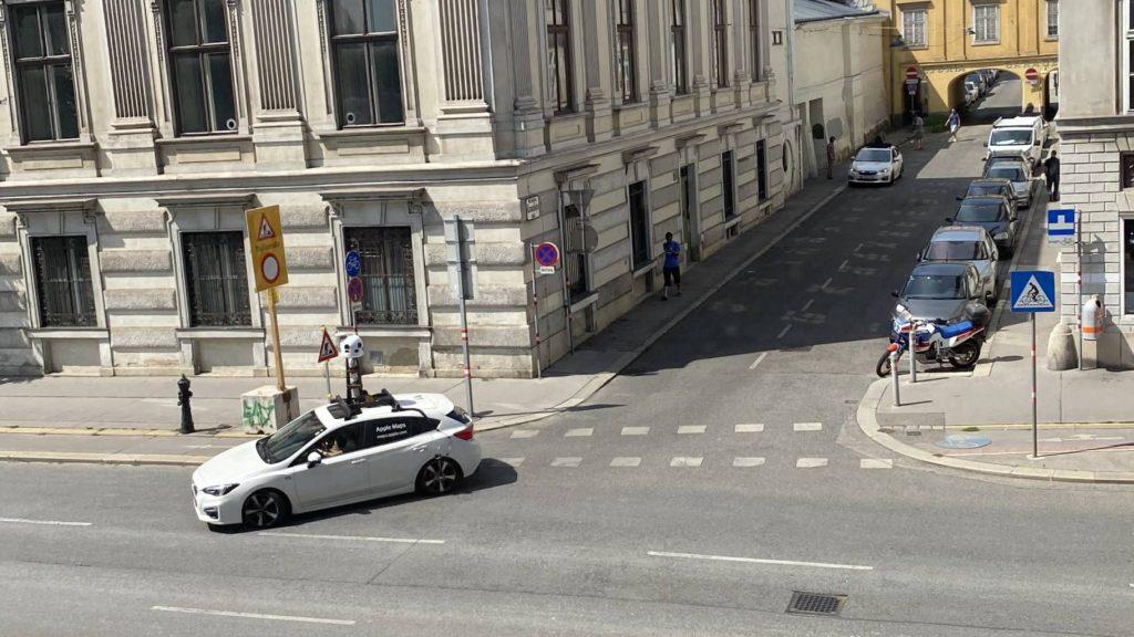 """Apple ordnet Fahrzeuge zu, die """"Look Around""""-Bilder in mehreren anderen Ländern sammeln"""