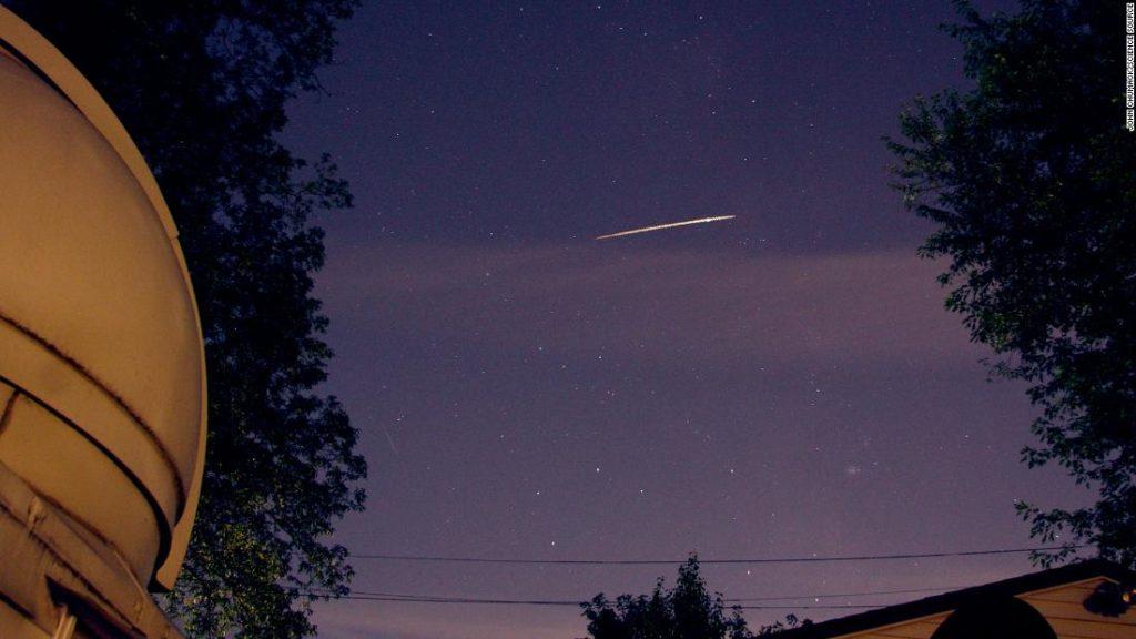 Delta Aquariiden Meteorschauer: wann und wie zu sehen