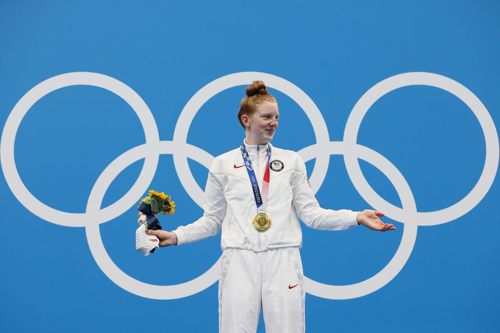 Amerikanerin Lydia Jacoby gewinnt schockierende Goldmedaille