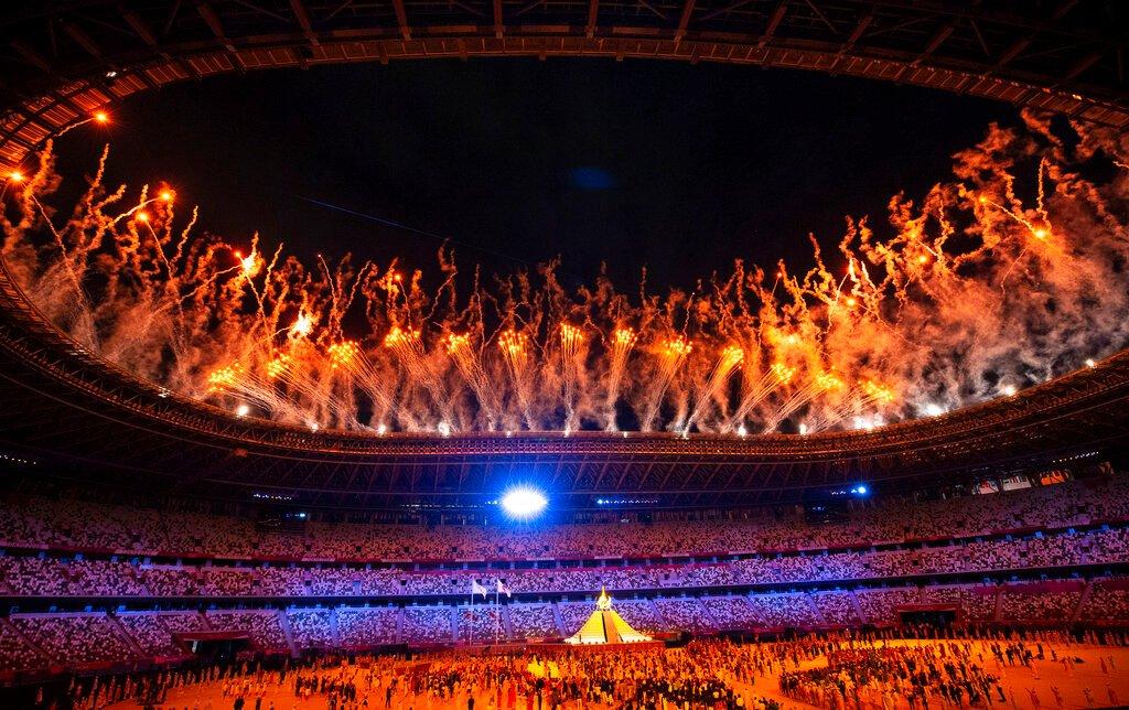 Bewertungen der Eröffnungszeremonie der Olympischen Spiele in Tokio gegenüber 2016 gesunken