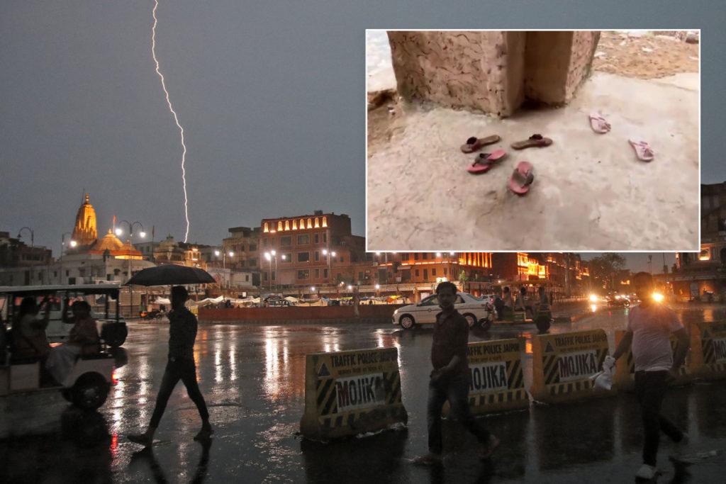 Blitz tötet 18 Selfie-Taker an Sehenswürdigkeiten in Jaipur