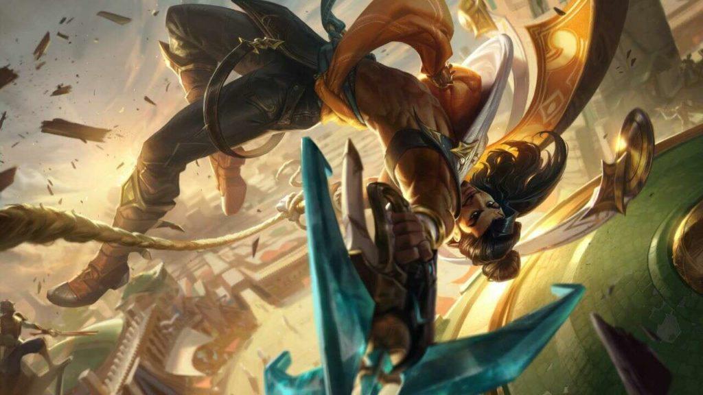 Der neue League-of-Legends-Champion Akshan kommt mit Patch 11.15