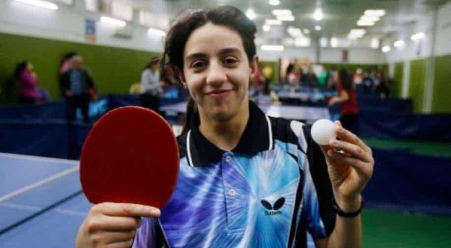 """Der syrische Tischtennis-Tween bewältigt einen """"schweren"""" Weg zu den Olympischen Spielen 2020, Sportnachrichten"""