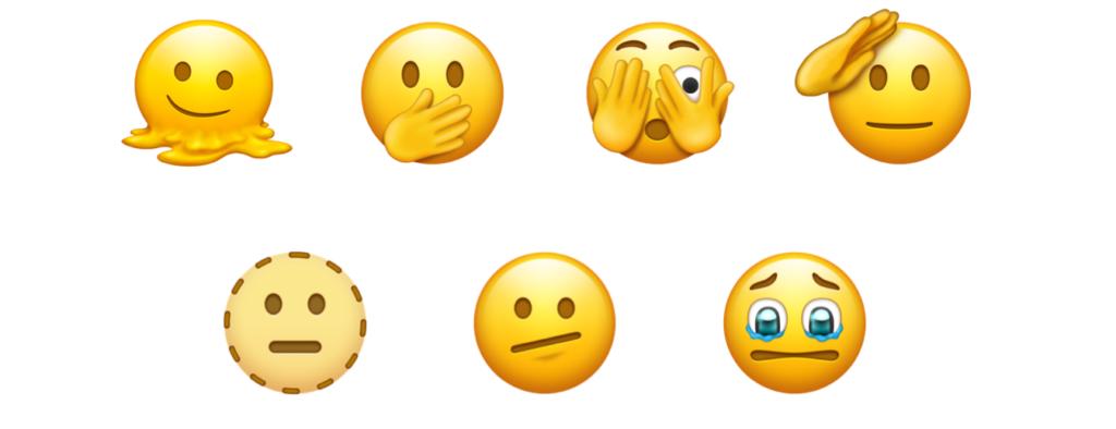 Die neuen Emojis von 2021 beschreiben perfekt 2020