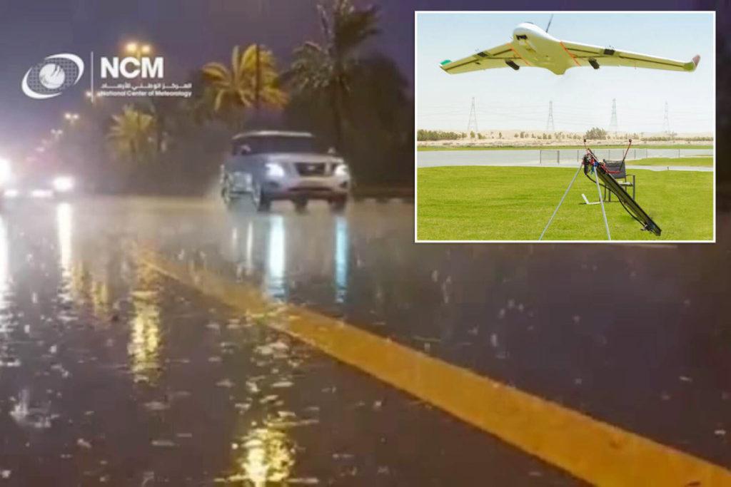 Dubai macht seinen eigenen Regen, um die 120-Grad-Hitze zu besiegen