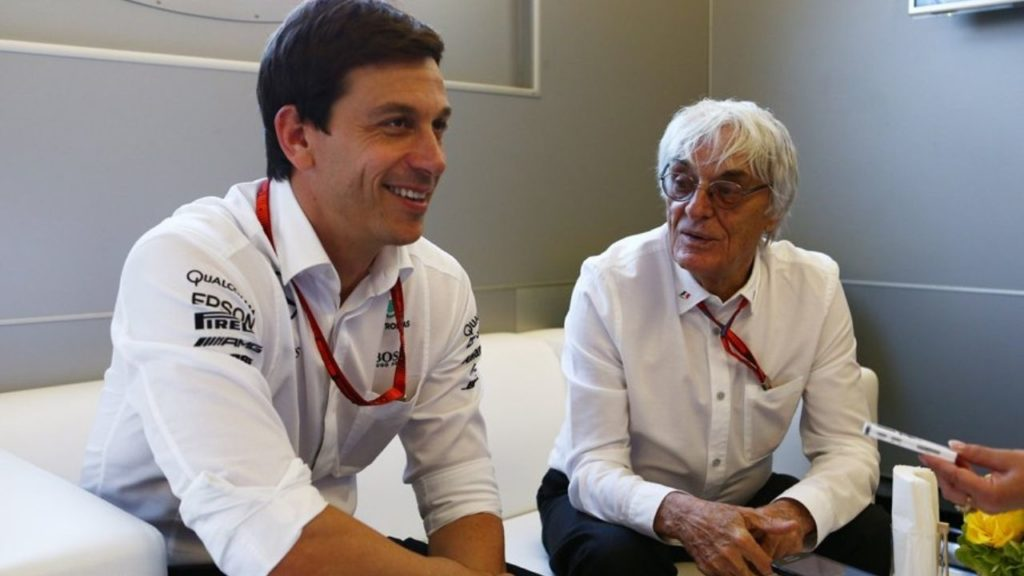 """""""He likes to create a little bit of controversy and mess"""" - Toto Wolff gives it back to Bernie Ecclestone for his comments on Lewis Hamilton"""