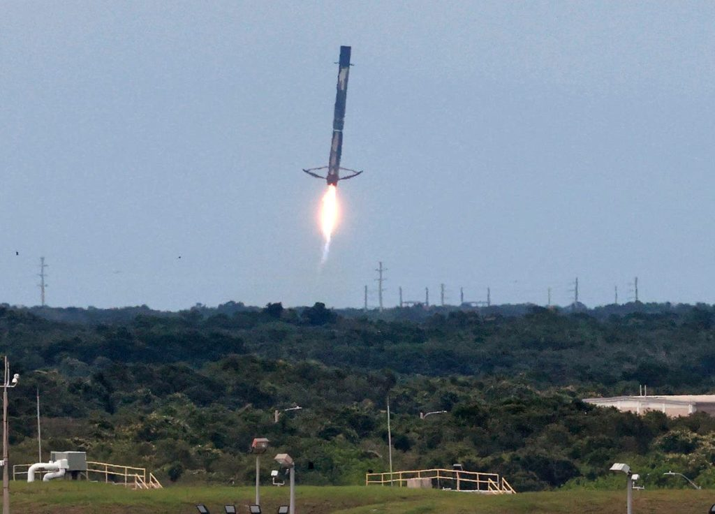 FAA: Neues Tool begrenzt Störungen durch Weltraumoperationen Blue Origin Cape Canaveral FAA Elon Musk Florida