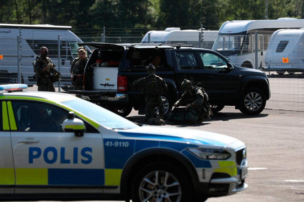 Gefängniswärter in Schweden von Häftlingen als Geiseln genommen