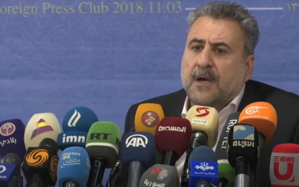 Inmitten mysteriöser Explosionen behauptet der ehemalige iranische Abgeordnete, dass der Mossad hinter allen Angriffen steckt