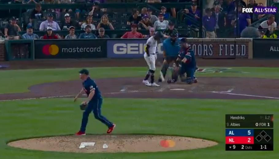 Liam Hendriks, der den White Sox am nächsten steht, hat einen Ärmel voller Schimpfwörter, wenn das Fox All-Star Game ausgestrahlt wird
