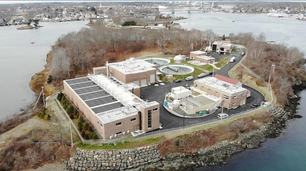 Machen Sie eine virtuelle Tour durch Portsmouth, die 92-Millionen-Dollar-Abwasserbehandlungsanlage von NH
