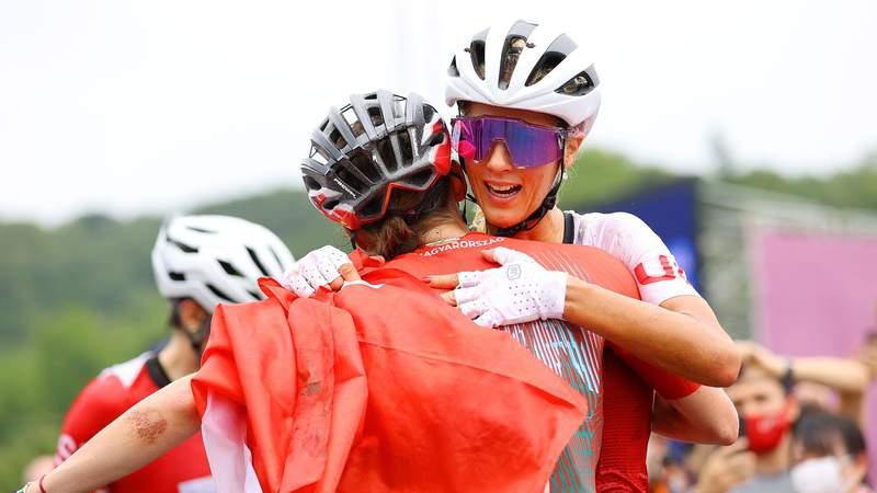 Neff führt den ersten olympischen Mountainbike-Podiumsplatz der Schweiz an