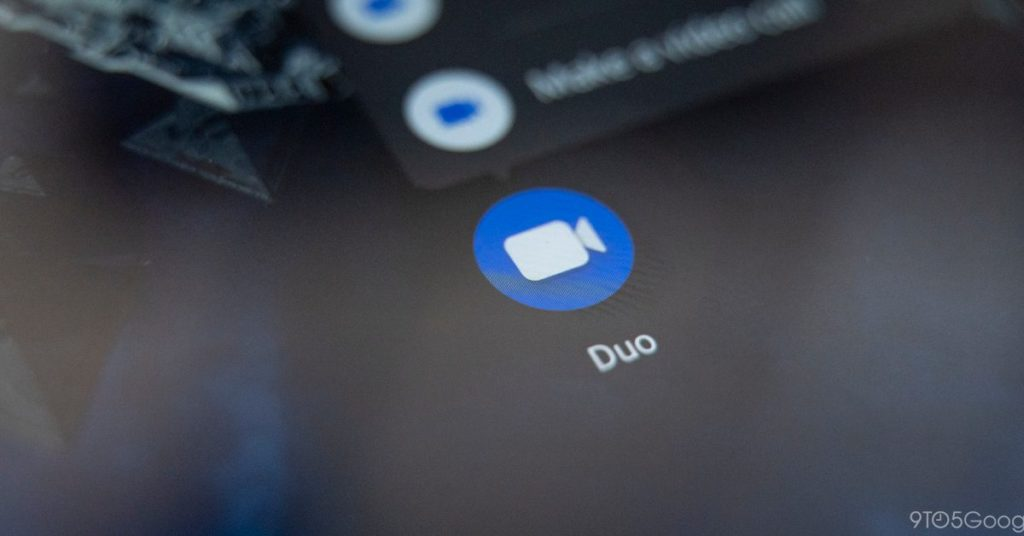 """Neugestaltung des Google Duo-Startbildschirms mit der Schaltfläche """"Neuer Anruf"""""""