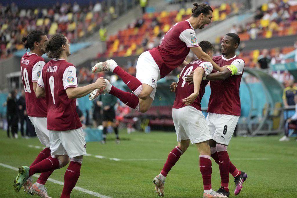 Österreich besiegt die Ukraine mit 1:0 und qualifiziert sich für die Euro 2020