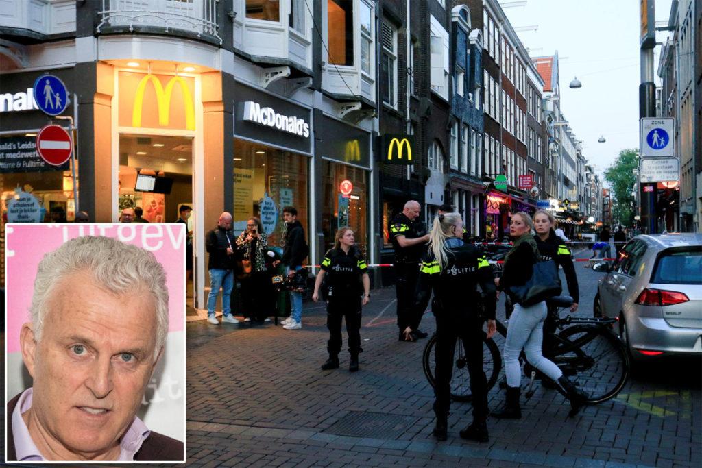 Peter R. de Vries, niederländischer Kriminaljournalist, in der Amsterdamer Straße in den Kopf geschossen