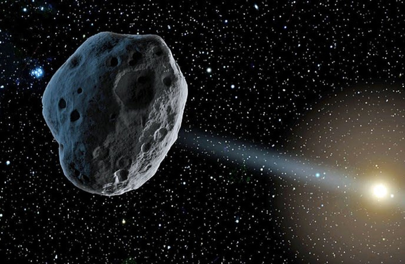 Pyramidengroßer Asteroid wird nahe an der Erde fliegen