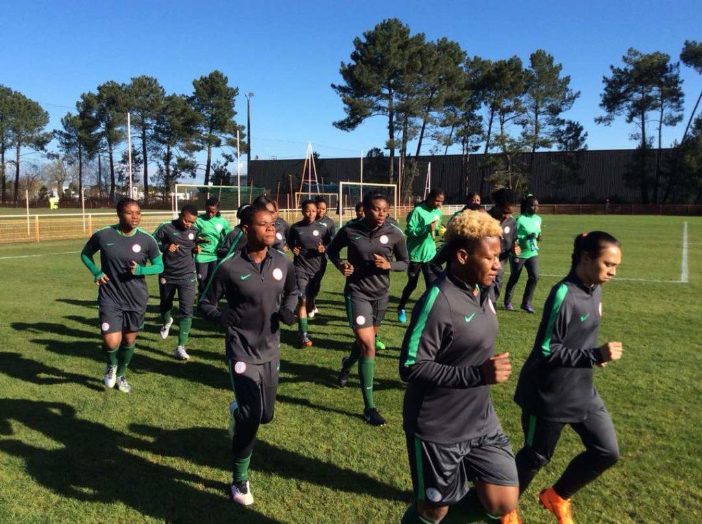 Super Falcons ziehen vor dem Aisha Buhari Cup nach Österreich