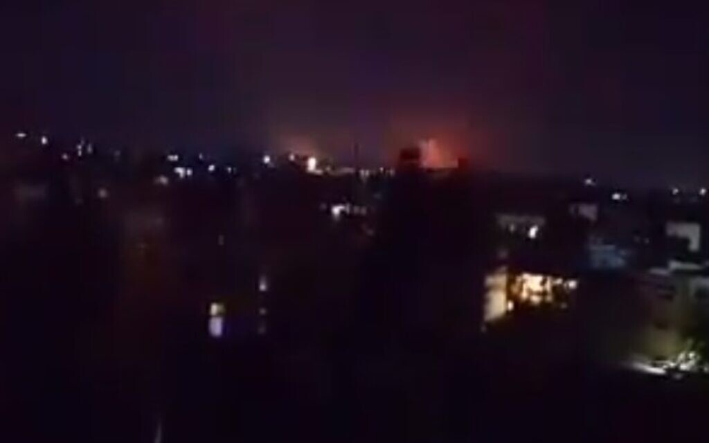 Syrien behauptet, israelische Luftangriffe zielen auf die nördliche Region Aleppo