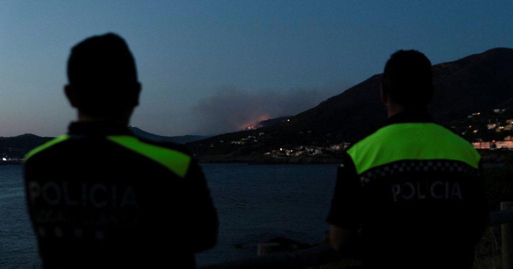 Waldbrand an Spaniens Costa Brava zwingt Hunderte, ihre Häuser zu verlassen