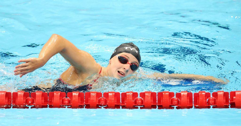 Zeitplan der Olympischen Spiele 2021: Wann schwimmt Katie Ledecky, welche Ereignisse, wie kann man live im Fernsehen sehen?