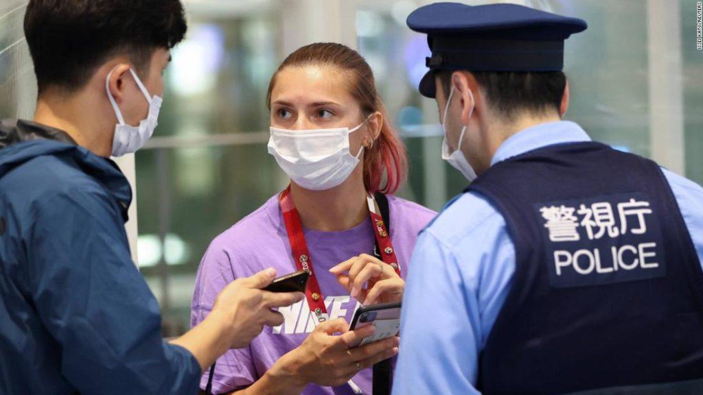 Kristina Timanovskaya: Belarussische Olympia-Sprinterin betritt polnische Botschaft, nachdem sie den Rückflug verweigert hat
