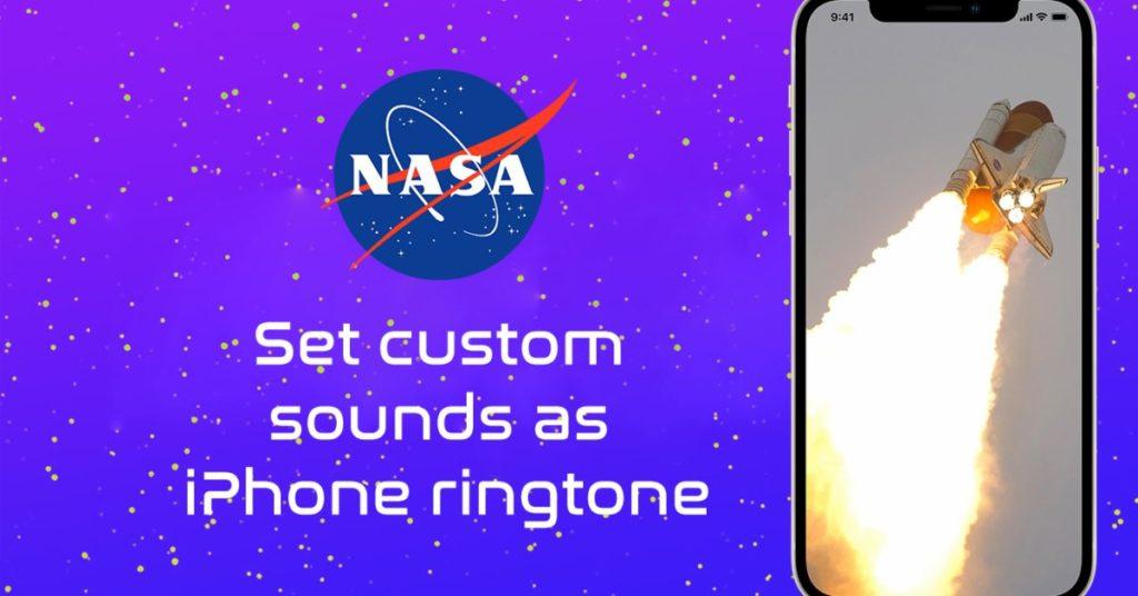 So stellen Sie das Audio der NASA-Mission als iPhone-Klingelton ein