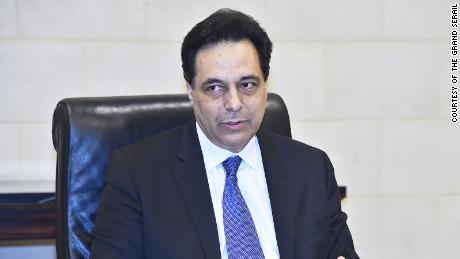 Der amtierende Premierminister des Libanon ruft