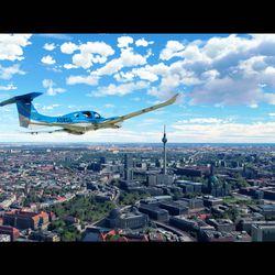 Standbilder aus dem MSFS Global Update 6, die 2021 auf der Gamescom gezeigt werden.