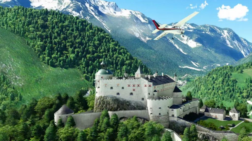 Microsoft Flight Simulator World Update 6 zur Verbesserung von Deutschland, der Schweiz und Österreich