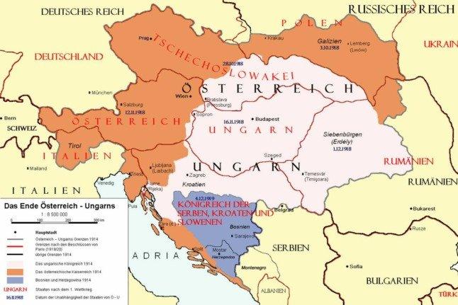 11 Karten, die Ihnen helfen, Österreich heute zu verstehen