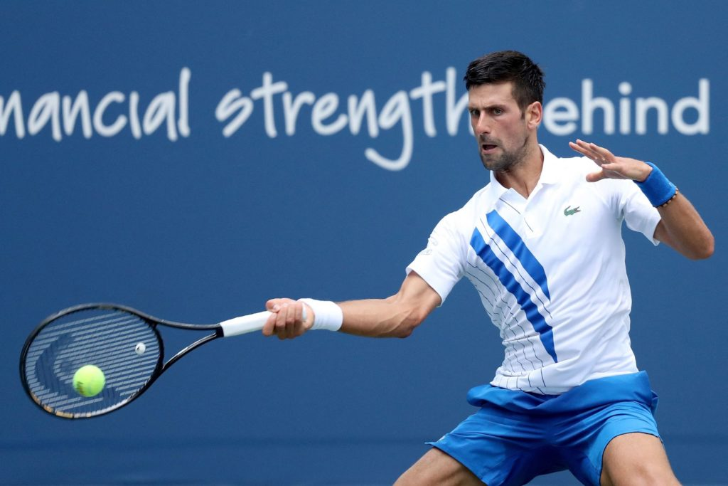 Djokovics Weg zum Grand-Slam-Kalender führt über Olympiasieger