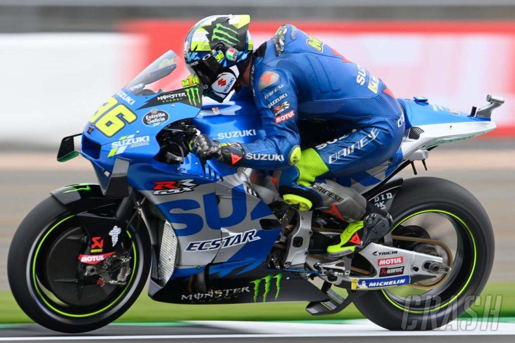 Britischer MotoGP: Suzuki entfernt Höhenmesser in Silverstone |  MotoGP