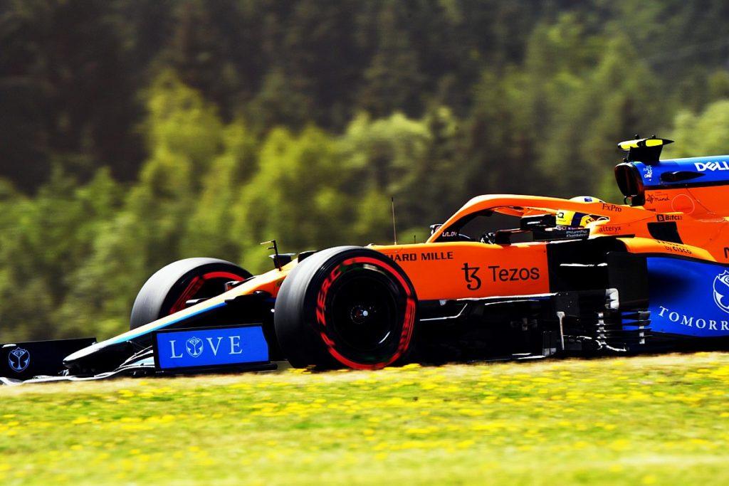 """Norris ist """"viele Risiken eingegangen"""", um die erste Reihe des österreichischen F1 GP zu erreichen"""