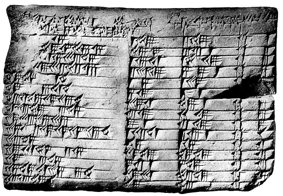 Angewandte Geometrie?  Die Babylonier taten es, tausend Jahre vor Pythagoras