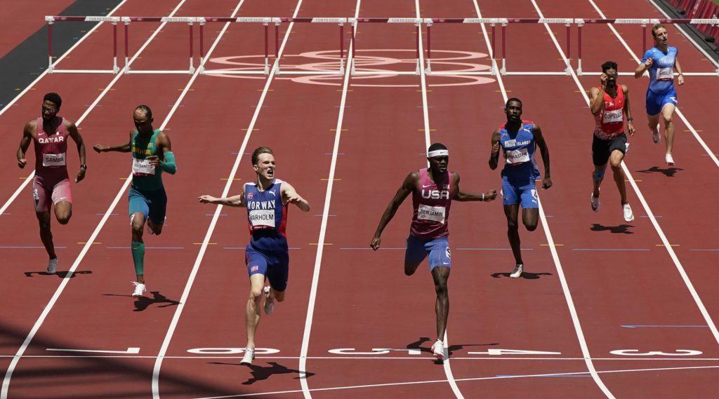 Bestes Rennen aller Zeiten?  Warholm gewinnt Rekordhürdenrennen