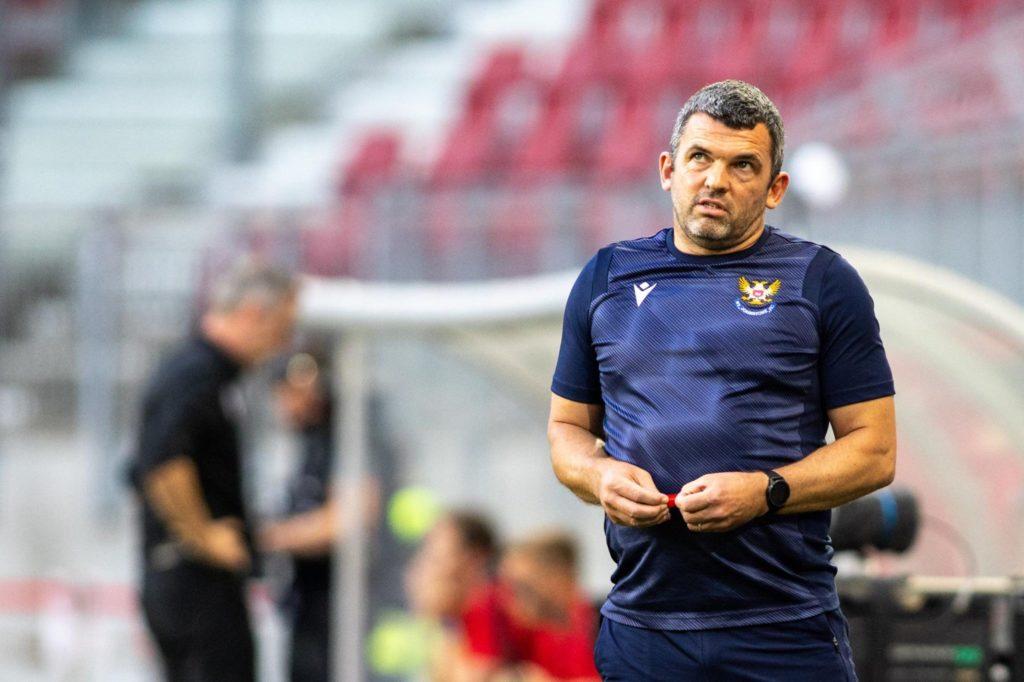 """Callum Davidson """"entspannt"""" als St. Johnstone Gastgeber des Schlüsselspielers für das entscheidende europäische Spiel gegen LASK"""