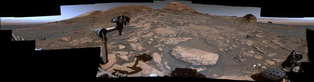 Das Curiosity-Rover-Video der NASA zeigt einen neuen Panoramablick auf den Mars