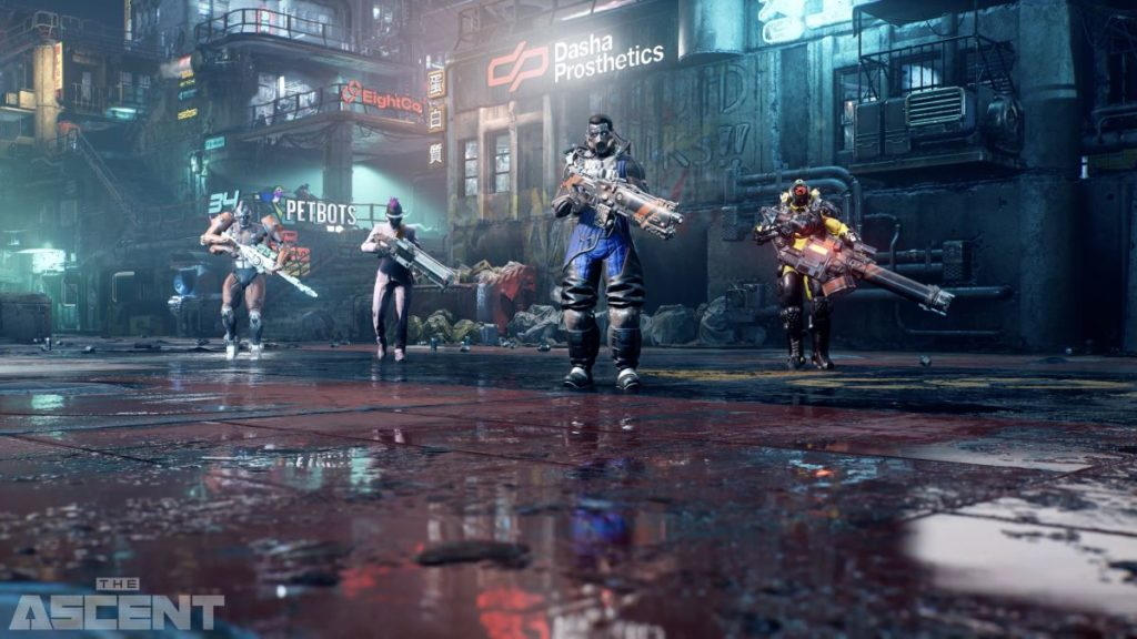 Der neue Sci-Fi-Shooter 'The Ascent' kommt für Xbox Series X und PC