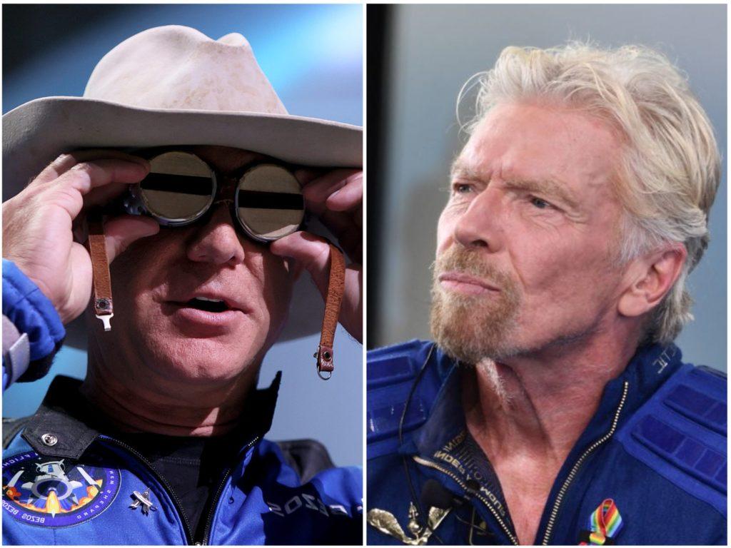 Hier ist der Grund, warum Jeff Bezos und Richard Branson für die Raumfahrt nicht sicher gekleidet waren