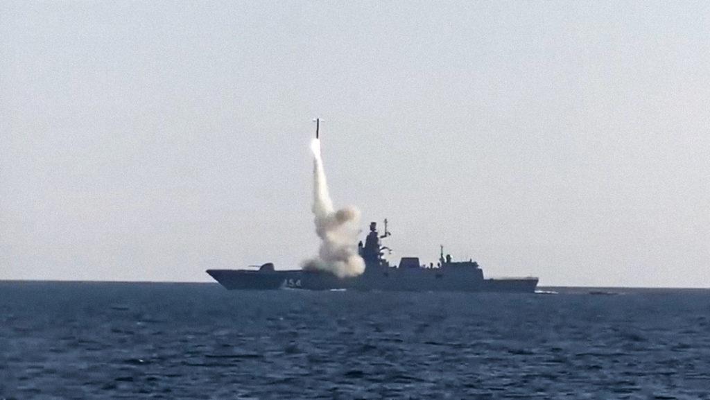 Russland rüstet Kriegsschiffe mit neuen Tsirkon-Hyperschallraketen aus