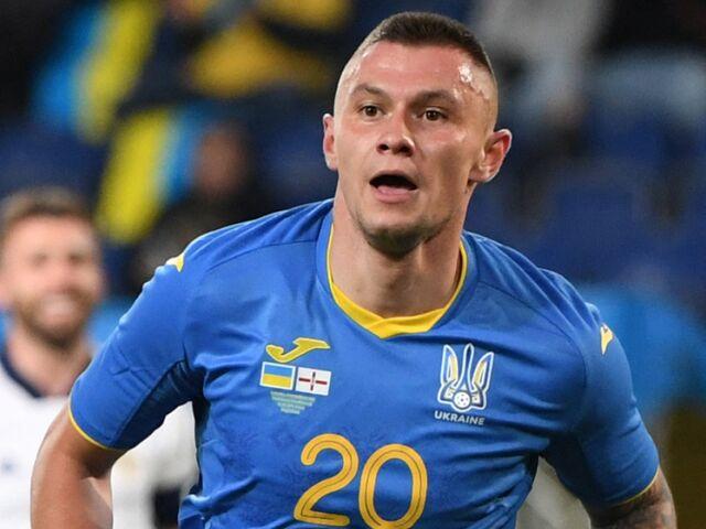 Oleksandr Subkov erzielte den Siegtreffer für die Ukraine.