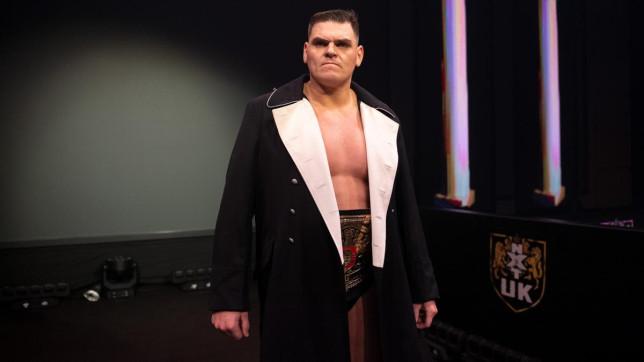 WWE Superstar und NXT UK Champion WALTER